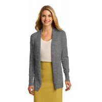 Port Authority® Ladies Open Front Cardigan Sweater.