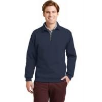 JERZEES® SUPER SWEATS® - 1/4-Zip Sweatshirt with Cadet Collar.
