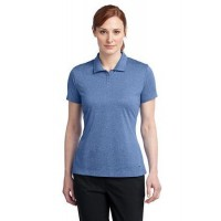 Nike Golf Ladies Dri-FIT Heather Polo.