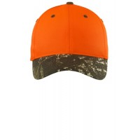 Port Authority® Safety Cap with Camo Brim