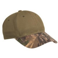 Port Authority® Pro Camouflage Series Cotton Waxed Cap with Camouflage Brim.