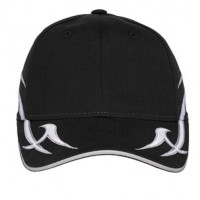Port Authority® Racing Cap with Sickle Flames.