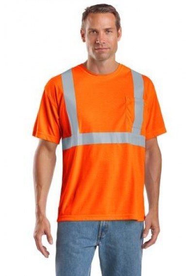 CornerStone® - ANSI 107 Class 2 Safety T-Shirt.