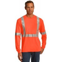CornerStone® ANSI 107 Class 2 Long Sleeve Safety T-Shirt.