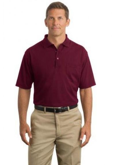 CornerStone® - Industrial Pocket Pique Polo.