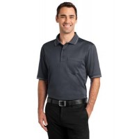 CornerStone® Select Snag-Proof Tipped Pocket Polo.