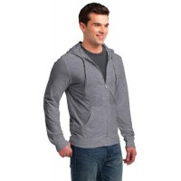 District® Young Mens Jersey Full-Zip Hoodie