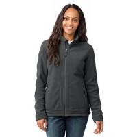 Eddie Bauer® - Ladies Wind-Resistant Full-Zip Fleece Jacket.