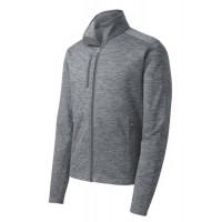 Port Authority® Digi Stripe Fleece Jacket