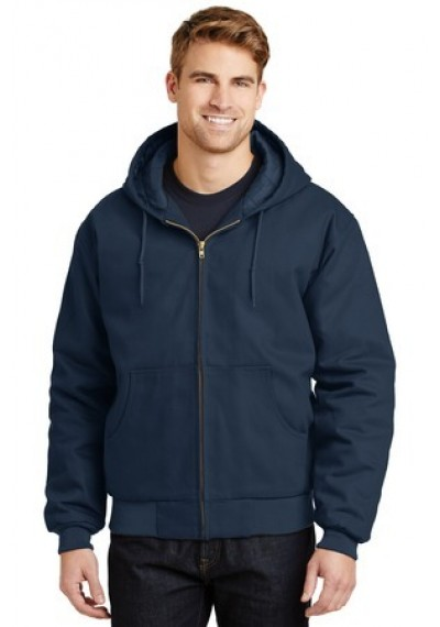 CornerStone® - Duck Cloth Hooded Work Jacket.