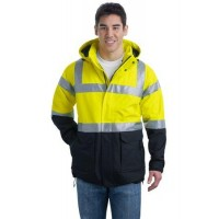 Port Authority® ANSI 107 Class 3 Safety Heavyweight Parka.