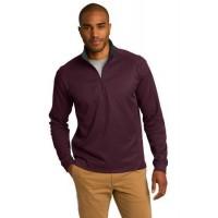 Port Authority® Vertical Texture 1/4-Zip Pullover.