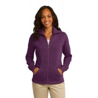 Port Authority® Ladies Slub Fleece Full-Zip Jacket