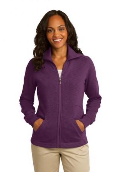 Port Authority® Ladies Slub Fleece Full-Zip Jacket