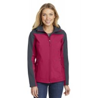 Port Authority® Ladies Hooded Core Soft Shell Jacket