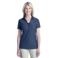 Port Authority® Ladies Horizontal Texture Polo.