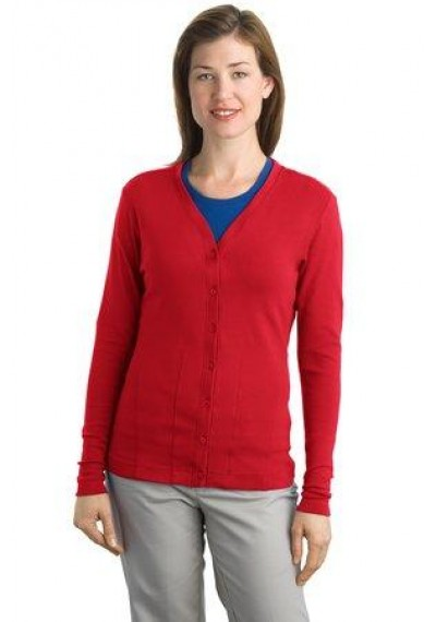 Port Authority® Ladies Modern Stretch Cotton Cardigan