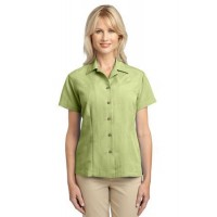 Port Authority® Ladies Patterned Easy Care Camp Shirt.