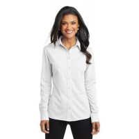 Port Authority® Ladies Dimension Knit Dress Shirt.
