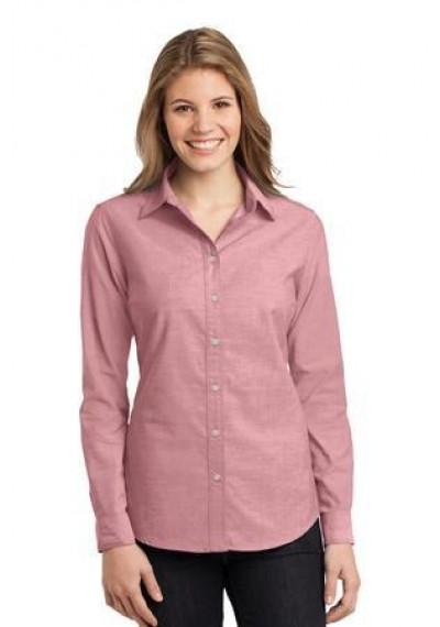 Port Authority® Ladies Chambray Shirt.