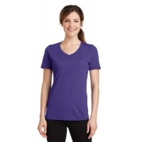 Port & Company® Ladies Performance Blend V-Neck Tee.
