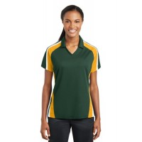Sport-Tek® Ladies Tricolor Micropique Sport-Wick®Polo