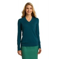 Port Authority® Ladies V-Neck Sweater.