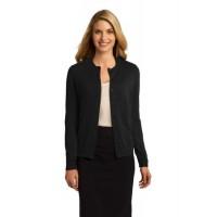 Port Authority® Ladies Cardigan Sweater.