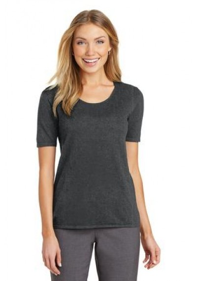 Port Authority® Ladies Scoop Neck Sweater