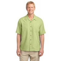 Port Authority® Patterned Easy Care Camp Shirt
