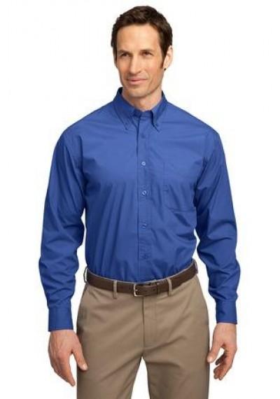 Port Authority® Long Sleeve Easy Care, Soil Resistant Shirt.