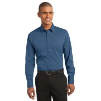 Port Authority® Stretch Poplin Shirt.