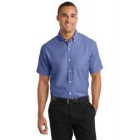 Port Authority® Short Sleeve SuperPro™ Oxford Shirt.