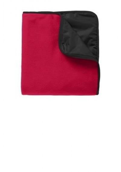 Port Authority® Fleece & Poly Travel Blanket