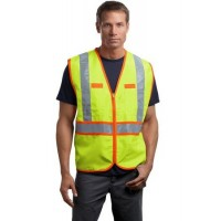 CornerStone® - ANSI 107 Class 2 Dual-Color Safety Vest
