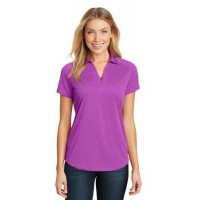 Port Authority® Ladies Digi Heather Performance Polo