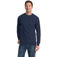 Port & Company® - Long Sleeve Essential Pocket Tee