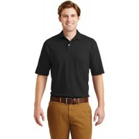 JERZEES® -SpotShield™ 5.6-Ounce Jersey Knit Sport Shirt with Pocket