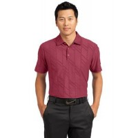 Nike Golf Dri-FIT Embossed Polo.