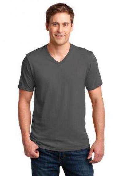 Anvil® 100% Ring Spun Cotton V-Neck T-Shirt.