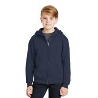 JERZEES® - Youth NuBlend® Full-Zip Hooded Sweatshirt.