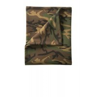 Port & Company® Core Fleece Camo Sweatshirt Blanket