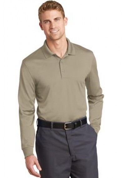 CornerStone® Select Snag-Proof Long Sleeve Polo.