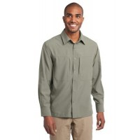 Eddie Bauer® - Long Sleeve Performance Travel Shirt
