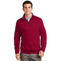 Port Authority® Flatback Rib 1/4-Zip Pullover.