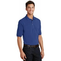 Port Authority® Pique Knit Polo with Pocket
