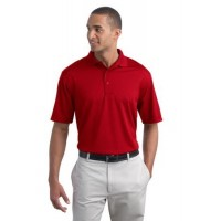 Port Authority® Poly-Charcoal Blend Pique Polo.