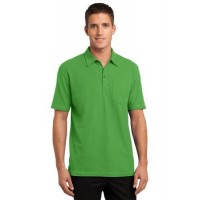Port Authority® Modern Stain-Resistant Pocket Polo.