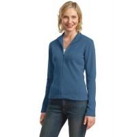 Port Authority® Ladies Flatback Rib Full-Zip Jacket