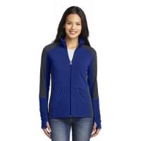 Port Authority® Ladies Colorblock Microfleece Jacket
